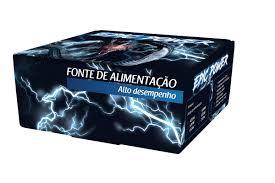 Fonte Atx 650w Real Epic Power 24P Fan 12cm + Cabo (Caixa Individual)