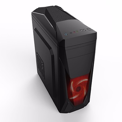 Gabinete Gamer Atx BR One Lion Usb 3.0 - Sem Fonte