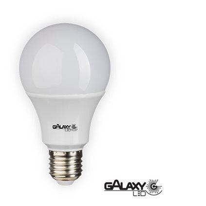 Lampada Led 12w Bulbo E27 BiVolt Galaxy Led Branca 1018LM - Inmetro