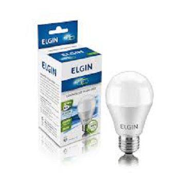 Lampada Led 9w Bulbo E27 BiVolt Elgin Amarela 850LM - Inmetro