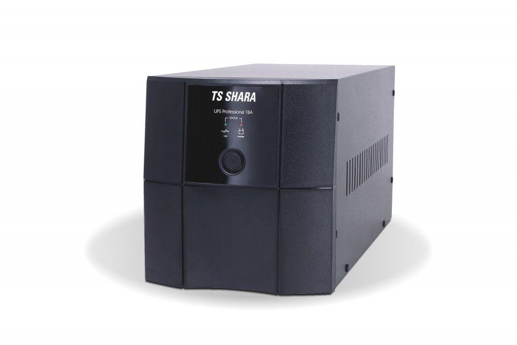 NoBreak TS Shara UPS Professional 1000VA C/Usb inteligente, 1BA, Full Range, Saida 115v (Ent.Bat.externa)
