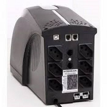 NoBreak TS Shara UPS Soho II 800VA C/USB Ent. Full Range e Saida 115v (Ent.Bat.externa)