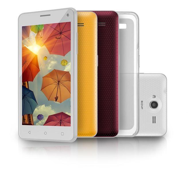 """Smartphone Multilaser MS50L 3G QuadCore 1GB RAM Tela 5"""" Dual Chip Android 7  - P9054"""