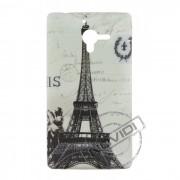 Capa Personalizada Cartão Postal Paris para Sony Xperia ZQ