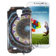 Case Personalizada Arabescos Coloridos para Samsung Galaxy S4 I9500 - Modelo 3