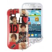 Capa Personalizada 1D para Samsung Galaxy S Duos S7562