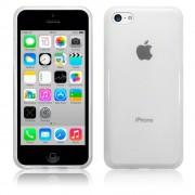 Kit Capa de TPU Premium + Película Transparente para iPhone 5C - Cor Transparente