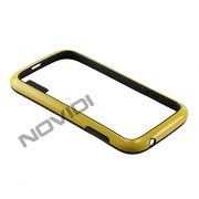 Capa Bumper para Samsung Galaxy Grand Duos I9082 - Cor Amarela/Preta