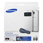 Kit Samsung Essential Accessory Pack para Samsung Galaxy S4 I9500 - Cor Branco