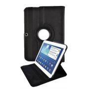 Capa com suporte 360º Rotating Stand para Samsung Galaxy Tab 2 10.1 P5110 /P5100 - Cor Preta