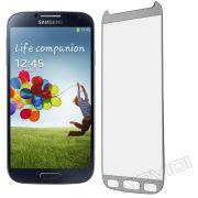 Película de Vidro Temperado Premium Glass com Bordas para Samsung Galaxy S4 I9500 - Cor Prateada