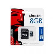 Cartão de memória microSD microSDHC 8GB Kingston