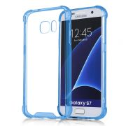 Capa Fusion Shell Anti-Impacto para Galaxy S7 - Cor Azul