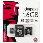 Cartão de Memória MicroSDHC MicroSD 16GB  Kingston