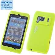 Capa de silicone Nokia CC-1005 para Nokia N8 - Verde