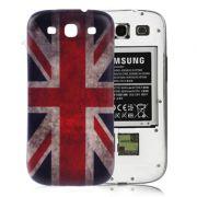 Tampa da Bateria personalizada Inglaterra para Samsung Galaxy S III i9300