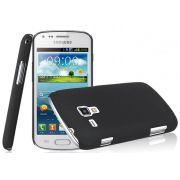 Capa para Samsung Galaxy S Duos S7562 - Cor Preta