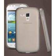 Capa de TPU Premium + Película protetora Pro fosca anti-reflexo para Samsung Galaxy S Duos S7562