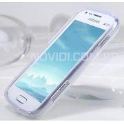 FlexiShield Plus - Capa de TPU Premium +  Pel�culas protetora Pro fosca anti-reflexo para Samsung Galaxy S Duos S7562 - Cor Transparente