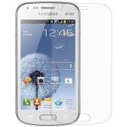 Kit com 2 Películas transparente lisa protetor de tela para Samsung Galaxy S Duos S7562