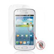 Kit com 2 Películas protetora Pro fosca anti-reflexo / anti-marcas de dedos para Samsung Galaxy S Duos S7562