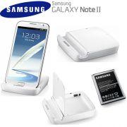 Kit dock carregador + Bateria para Samsung Galaxy Note 2 N7100 - Samsung - Original