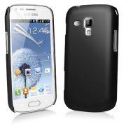 Capa para Samsung Galaxy S III Mini I8190 - Cor Preta