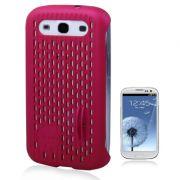 Capa Mash Vent para Samsung Galaxy SllI S3 - Cor Rosa