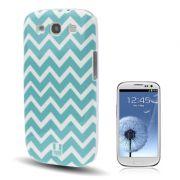 Capa Personalizada com Ondas para Samsung Galaxy S3 S III i9300