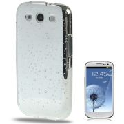 Capa Personalizada Drops para Samsung Galaxy S3 S III i9300 - Prata