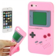Capa Retro Gameboy para Apple iPhone 5 - Rosa