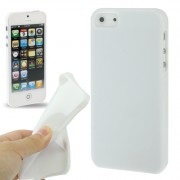 Capa de TPU Premium para Apple iPhone 5 - Cor Branco