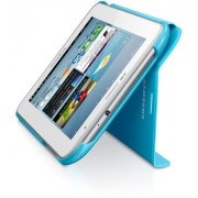 Capa estojo para Samsung Galaxy Tab 2 7.0 P3100 / P3110 - Samsung EFC-1G5SLEC - Cor Azul Claro