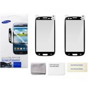 kit 2 Películas Protetora Galaxy S III  - Original Samsung ETC-G1G6 - Bordas Preta