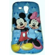 Capa Personalizada Mickey Minnie para Samsung Galaxy S Duos S7562