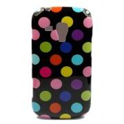 Capa fashion design Bolinhas para Samsung Galaxy S Duos S7562