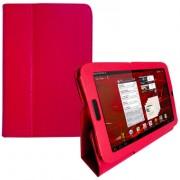 Capa Smart Cover dobravél para Motorola Xoom 2 8.2 - Vermelha