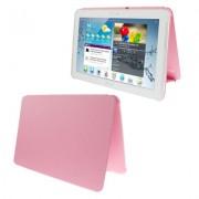 Capa Book estojo para Samsung Galaxy Tab 2 10.1 P5110 /P5100 - Cor Rosa