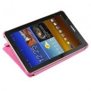 Capa Book estojo para Samsung Galaxy Tab 7.7 GT-P6800 - Cor Rosa