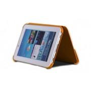 Capa Book estojo para Samsung Galaxy Tab 7.7 GT-P6800 - Cor Laranja