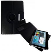Capa em couro para Samsung Galaxy Tab 2 10.1 P5110 /P5100 com suporte 360º - Cor Preta
