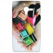 Capa Personalizada Esmaltes Coloridos para Sony Xperia ZQ