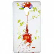 Capa Personalizada Esmalte Vermelho para Sony Xperia ZQ
