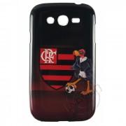 Capa colorida série Time Flamengo para Samsung Galaxy Grand Duos I9082