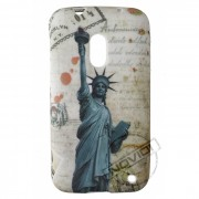 Capa Personalizada Cartão Postal New York Nokia Lumia 620