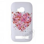 Capa Personalizada Coração com Strass para Nokia Lumia 710