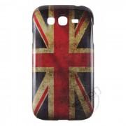 Capa Personalizada Bandeira Envelhecida Inglaterra para Samsung Galaxy Grand Duos