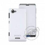 Capa Flip Cover para Sony Xperia L – Cor Branca