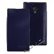 Capa Flip Cover para Sony Xperia ZQ – Cor Azul Marinho
