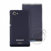 Capa Flip Cover para Sony Xperia L – Cor Azul Marinho